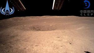 Des images en couleurs depuis la face cachée de la Lune