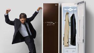 [MàJ]CES 2019 – LG dévoile le Styler, une armoire pour sécher le linge
