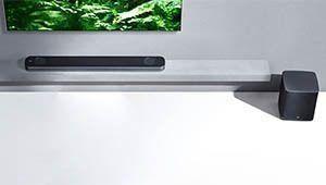 [Épuisé] Soldes 2019 – Barre de son Dolby Atmos LG SJ9 à 524€