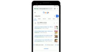 Google introduit un outil pour reprendre le fil de ses recherches