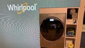 CES 2019 – Un lave-linge séchant dans la gamme Whirlpool W Collection
