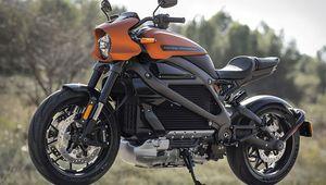 [MàJ] CES 2019 – Harley-Davidson LiveWire: 177km pour 33900€