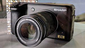 CES 2019 – Sharp prépare une caméra 8K grand public
