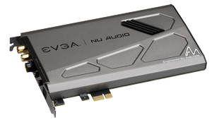 EVGA se lance dans les cartes sons PCIe avec la Nu Audio