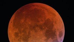 La dernière éclipse lunaire avant 2022, le 21 janvier à 4h du matin