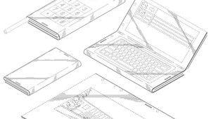 Intel: un smartphone/tablette pliable sous Windows dans les cartons?