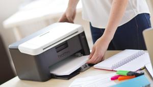 Trop grosses, les imprimantes laser? Non, il y en a des compactes
