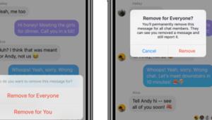 Supprimer un message sur Messenger est désormais possible