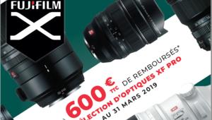 Bon plan – ODR Fujifilm hiver 2018: jusqu'à 1099€ de remboursé