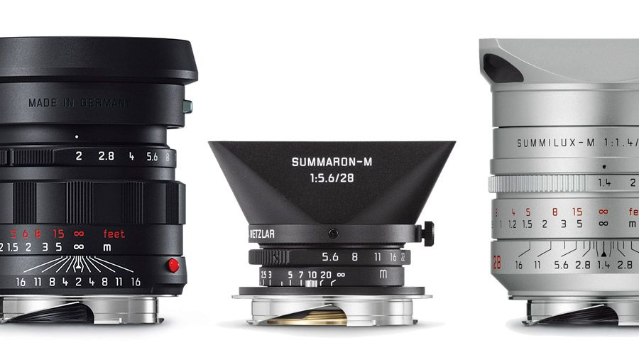 3 optiques Leica en édition limitée