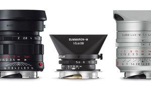 Leica présente trois nouvelles optiques en versions limitées