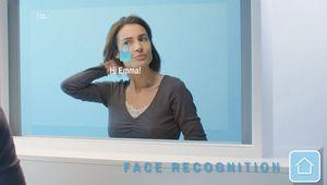 Le miroir connecté et hors de prix de la start-up CareOS