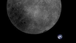 Un satellite chinois prend la Lune et la Terre sur une même photo