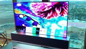 TV Oled enroulable LG trois fois plus cher qu'un Oled classique