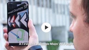 Google Maps en réalité augmentée: ça avance