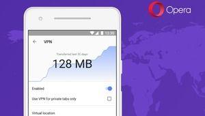 Opera sur Android se dote d'un VPN intégré
