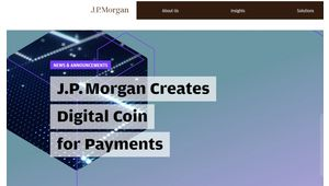JP Morgan Chase lance sa propre cryptomonnaie baptisée JPM Coin