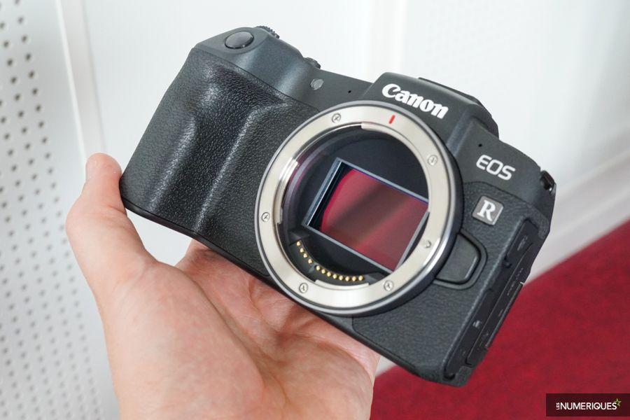 Canon EOS RP prise en main