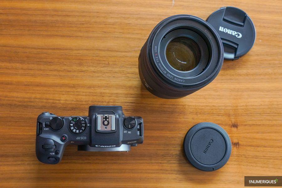 Le nouvel EOS RP de Canon et son optique 50mm f/1,2