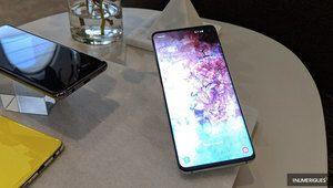 Samsung lance ses Galaxy S10 et S10+ à partir de 909€