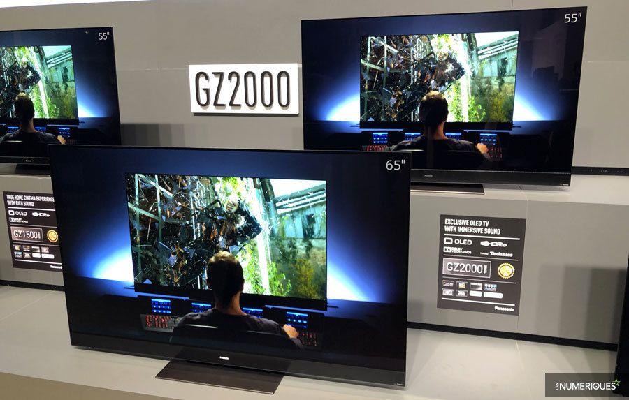 Panasonic dévoile sa gamme de téléviseurs Oled 2019 - Les