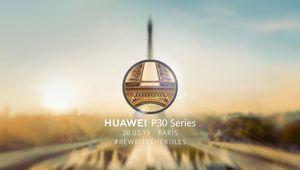Huawei présentera ses P30 à Paris le 26 mars