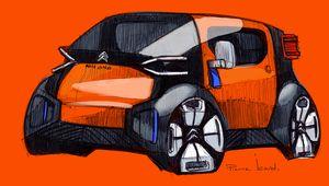 Citroën AMI One Concept, la voiture citadine électrique sans permis