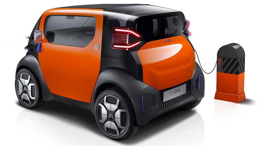 citro n ami one concept la voiture citadine lectrique sans permis les num riques. Black Bedroom Furniture Sets. Home Design Ideas