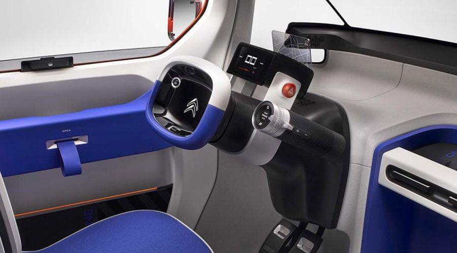 citro n ami one concept la voiture citadine lectrique. Black Bedroom Furniture Sets. Home Design Ideas