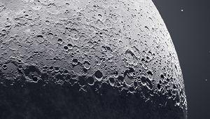 50000 photos pour réaliser ce cliché de 81 Mpx de la Lune