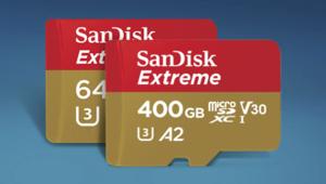 Bon plan – Sandisk microSDXC Extreme 256 Go avec adaptateur à 90€