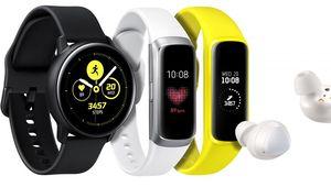 Samsung présente sa Galaxy Watch Active et ses Galaxy Fit