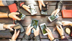 Marché des smartphones: une année 2018 portée par le haut de gamme
