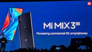 MWC 2019 – Xiaomi lance un Mi Mix 3 5G