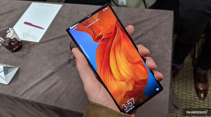 Prise en main du Huawei Mate X