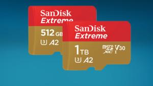 MWC 2019 – Sandisk dévoile la carte de 1 To microSDXC Extreme UHS-I