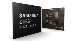Samsung lance la première puce de 512 Go en eUFS 3.0