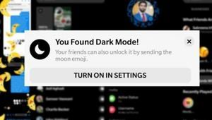 """Facebook déploie son """"dark mode"""" pour Messenger"""