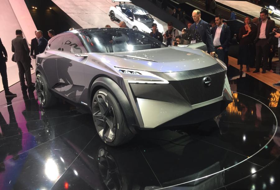 NIssan IMQ au salon de l'automobile de Genève 2019