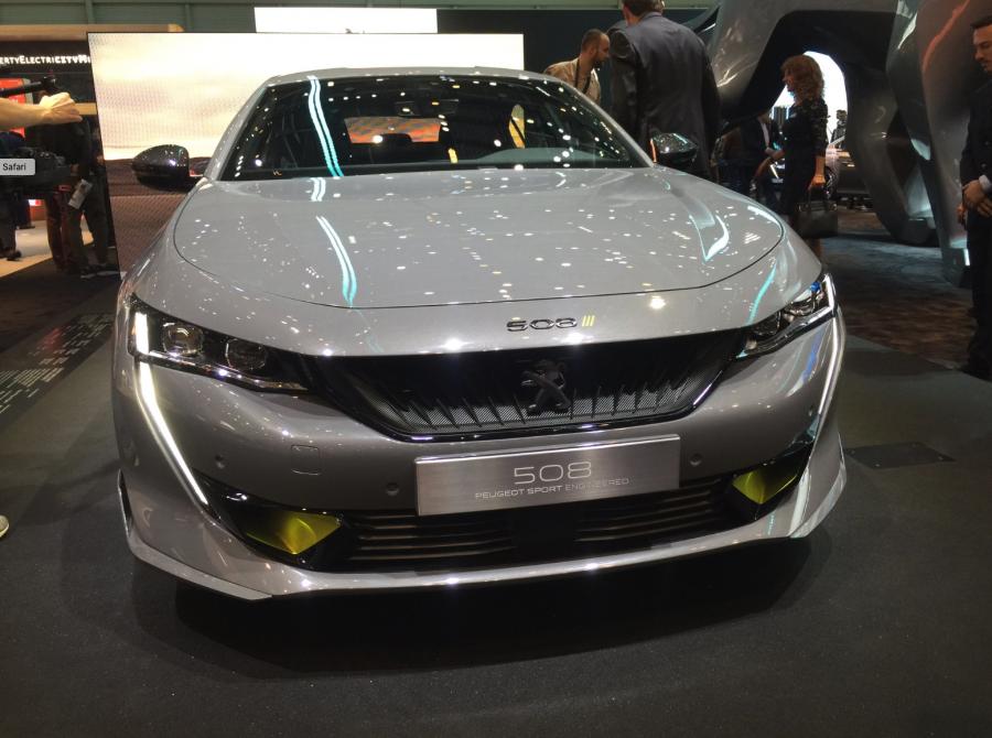 Peugeot 508 Sport Engineered au Salon de l'automobile de Genève 2019