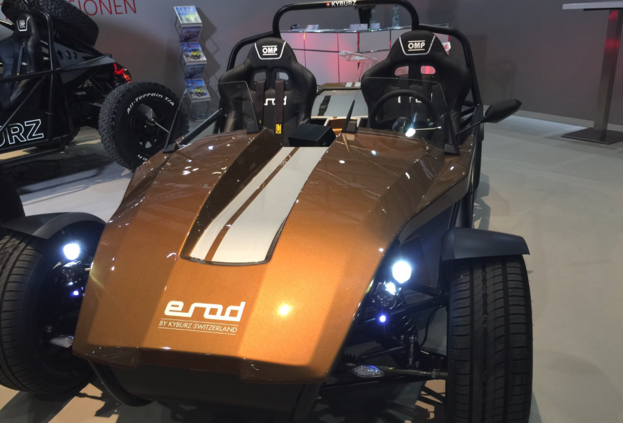 Kyburz au salon de l'automobile de Genève 2019