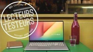 Lecteurs-Testeurs Asus VivoBook S14: l'ergonomie et le design
