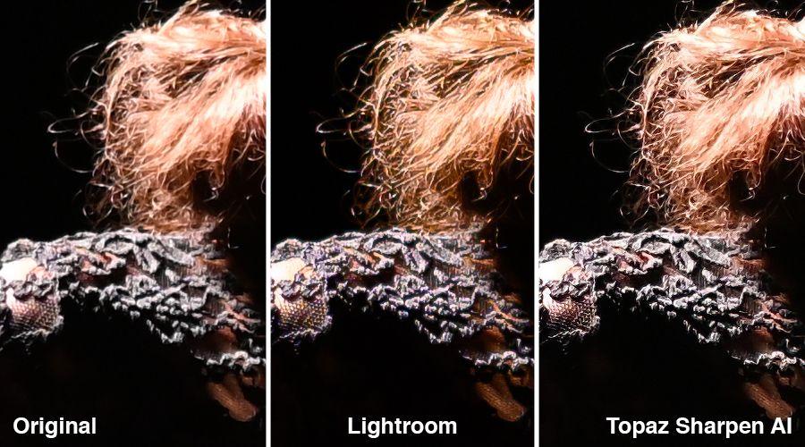 topaz sharpen ai in lightroom