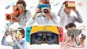 Nintendo se met à la réalité virtuelle sur Switch grâce à son
