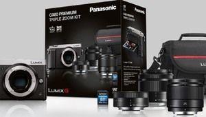 Bon plan – Le Panasonic Lumix GX80 en kit avec 3 zooms pour 699€