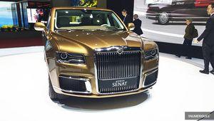 Genève 2019 – Aurus Senat, la limousine hybride des tsars