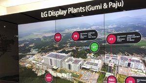 La nouvelle usine Oled de LGDisplay sur la bonne voie