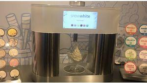 """Snow White de LG: la machine à """"fabriquer"""" des glaces chez soi"""
