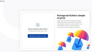 Firefox Send: un service de transfert gratuit et sécurisé