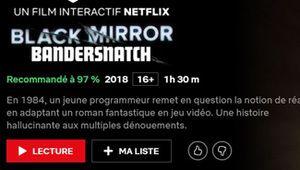 Netflix: plus de contenus interactifs à la Bandersnatch